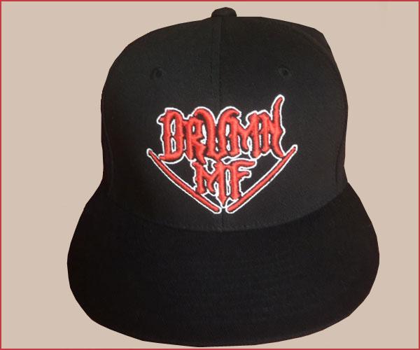 DRUMNMF HAT RED LOGO