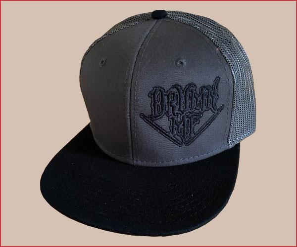 DRUMNMF HAT CHARCOAL/BLACK