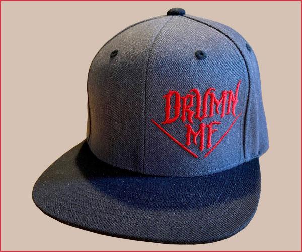 DRUMNMF HAT DARK HEATHER/BLACK