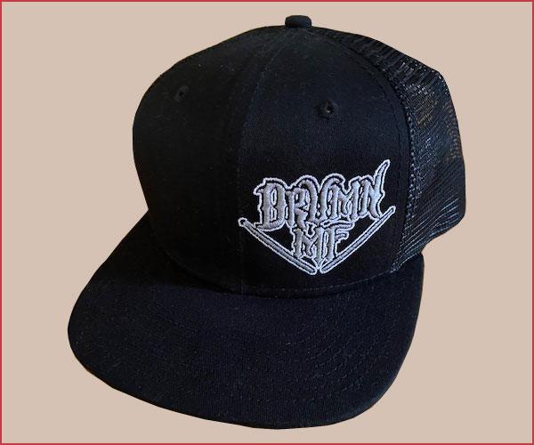 DRUMNMF HAT BLACK/BLACK
